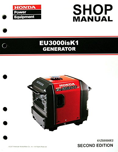 Honda EU3000 EU3000is K1 Generator Service Repair Shop Manual