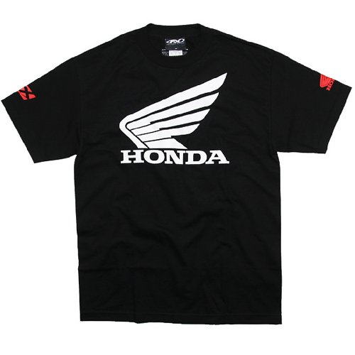 Factory Effex 'Honda' Big Wing T-Shirt (Black, Large)