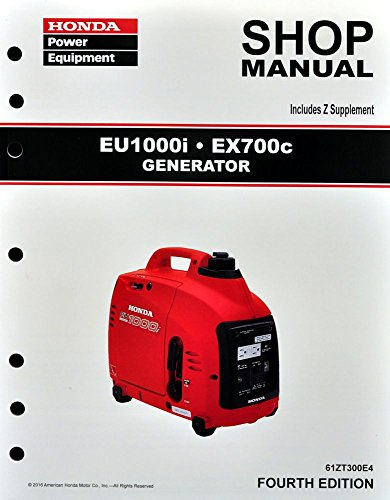 Honda EU1000 EX700 Generator Service Repair Shop Manual