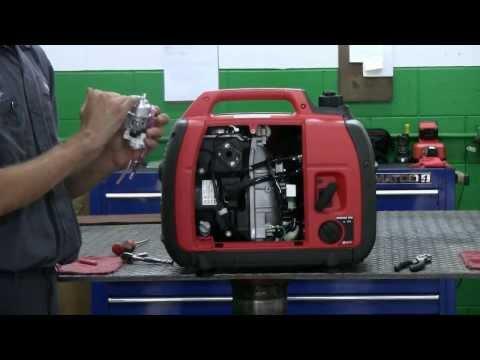 Servicing a honda generator carburetor